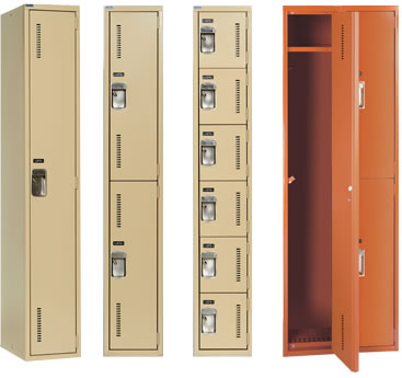 CORRIDOR LOCKERS Standard Single-Point Latch